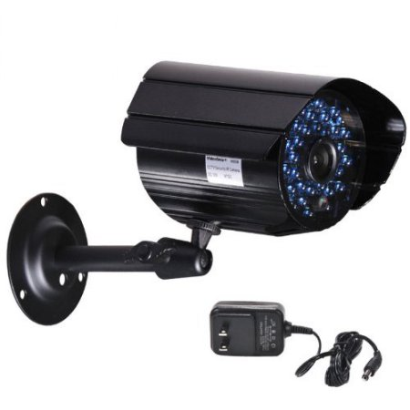 VideoSecu Infrared Day Night Vision 36 LEDs Security Camera Weatherproof Outdoor Home Surveillance