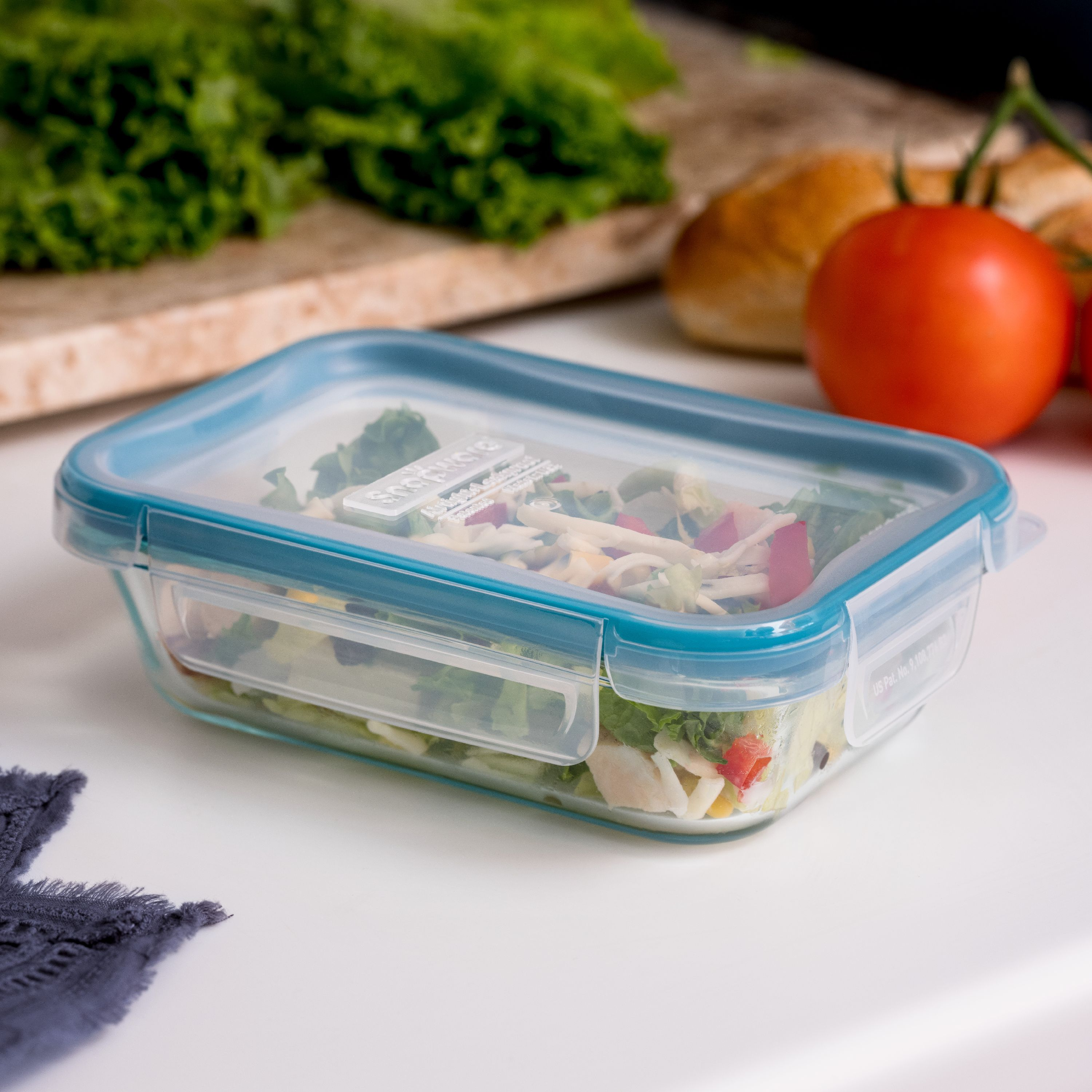 Snapware Total Solution 2-Cup Glass Rectangle Storage Dish