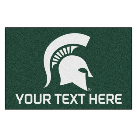 Personalized Michigan State University Starter Mat