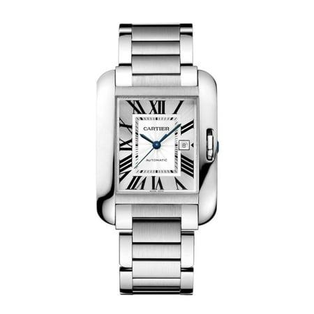 Cartier Men's Tank - Silver - Automatic Watch ()