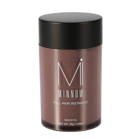 Zerone Men Hair Fiber Powder, Women Hair Fiber Powder,Minnow 9 Types Women Men Baldness Concealer Thickening Hair Building Fibers