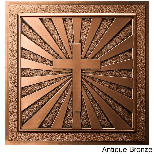 uDecor  Calvary 24-inch Ceiling Tiles (10 tiles)
