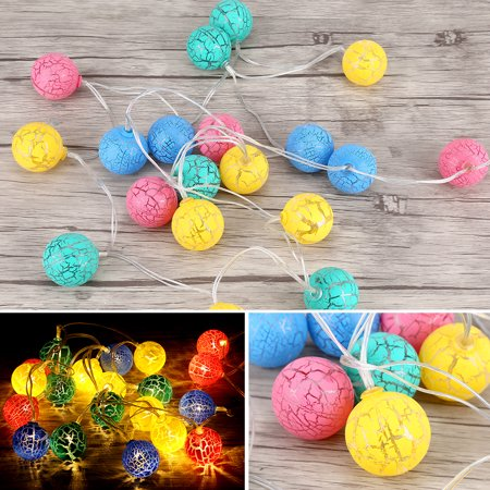 Christmas Birthday Party Idea.Hurrise 20led Globe Fairy String Light Ball Lights Christmas Birthday Party Decor String Lights Festival String Lights Walmart Com