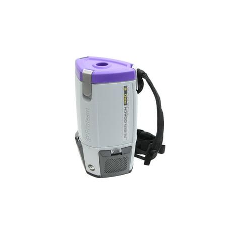 ProTeam Super CoachVac Pro 6 QT Backpack Vacuum