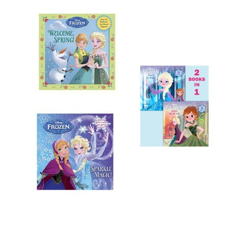 Frozen Bundle: Sparkle Magic!, Welcome Spring!, Anna's Act of Love ~