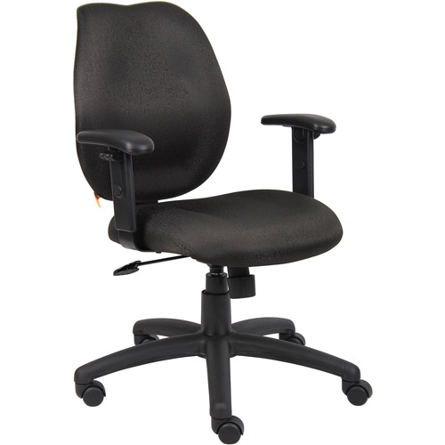 Boss Desk Chair with Adjustable Arms