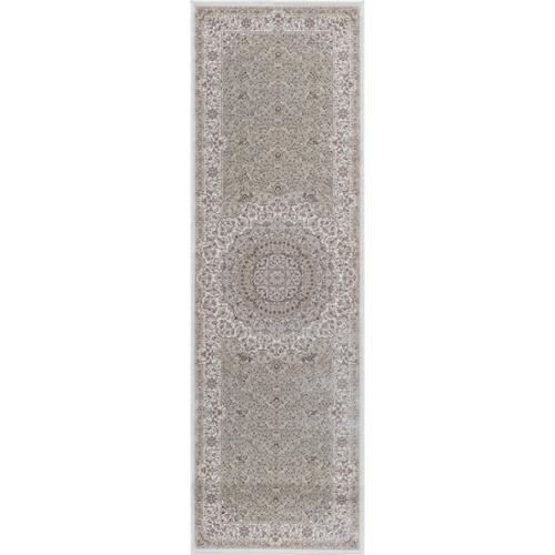 Momeni Antiquity Scallop Medallion Medallion Ivory Fine Area Rug (2'6' x 7'10) by Overstock