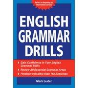 Best English Grammar Books - English Grammar Drills - eBook Review