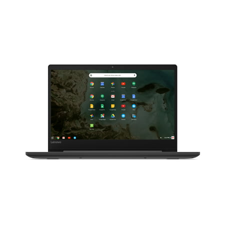 Lenovo 81JW0001US Chromebook S330, 14u0022 HD Display, Mediatek MT8173C CPU 4GB RAM, 32GB eMMC SSD, Chrome OS, Black