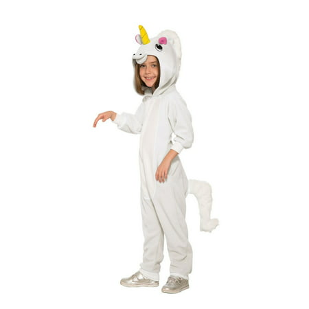 Alien Girl Costume (Girls Unicorn Jumpsuit)