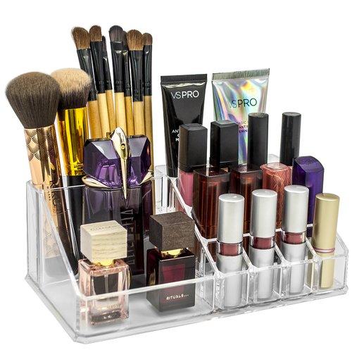 Acrylic makeup organizer walmart