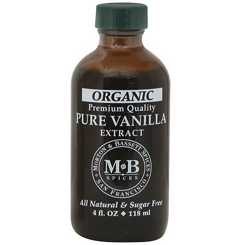 Morton & Bassett Spices Pure Vanilla Extract, 4 oz (Pack of 3)