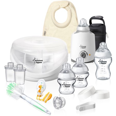 Tommee Tippee Closer To Nature Complete Starter Set  Bpa Free