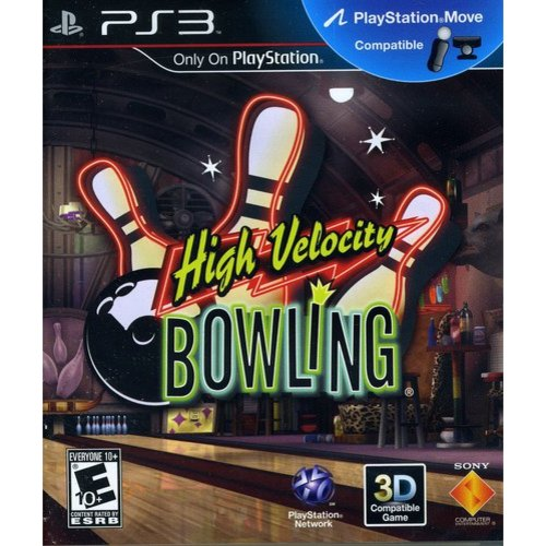 High Velocity Bowling - Motion Control (PS3)