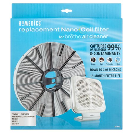 Homedics Replacement Nano Coil Filter