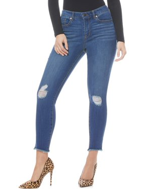 Sofia Jeans Sofia Skinny Destructed Mid Rise Ankle Jean Women's