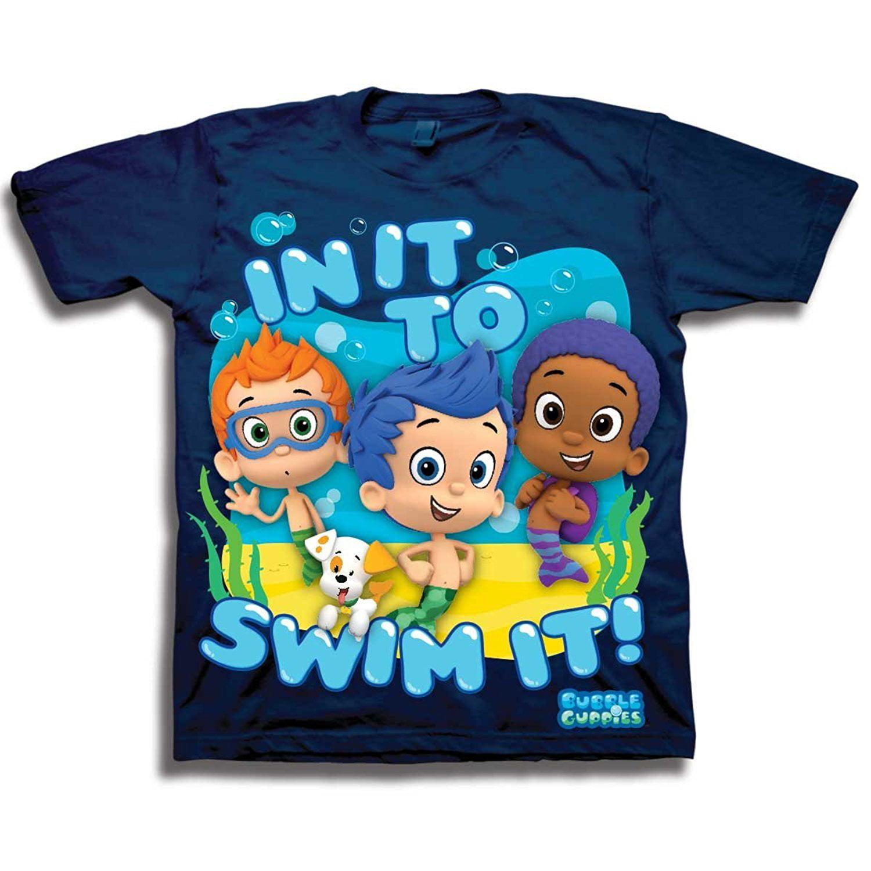 d433a24821 Nickelodeon - Nickelodeon Little Boys  Bubble Guppies T-Shirt Toddler