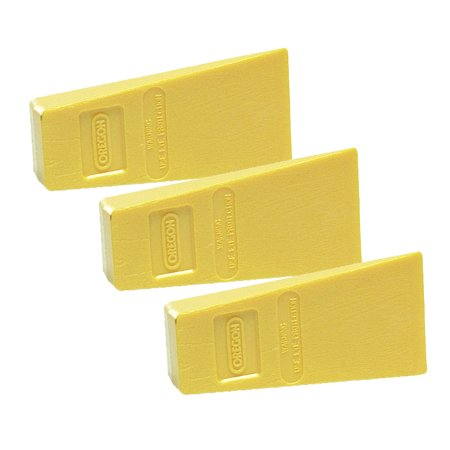 Oregon (3 Pack) Chainsaw 5- Oregon Bulk Plastic Wedge # 23562-3PK
