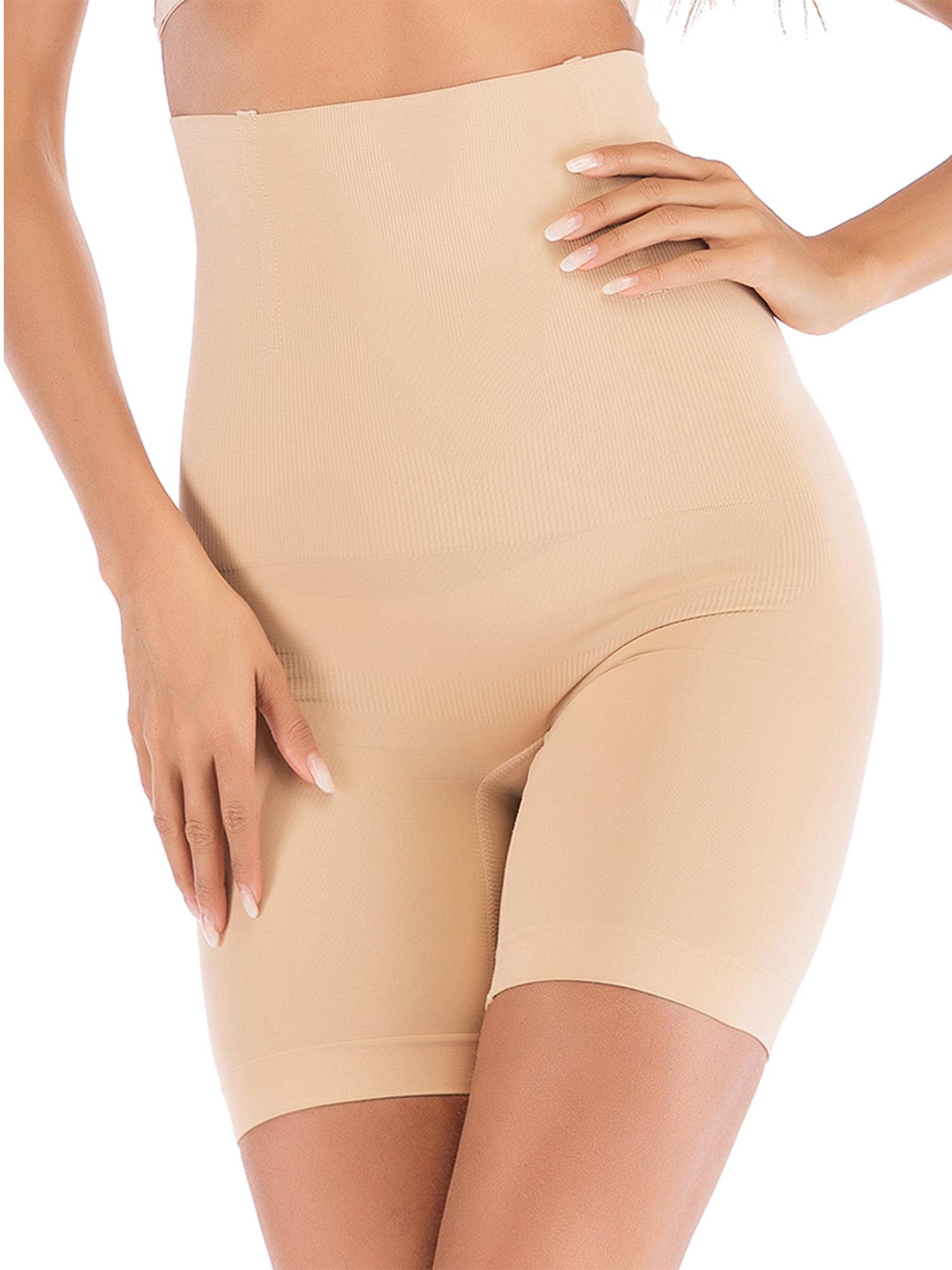 489027be0 SAYFUT - Women s High Waist Ultra Firm Control Tummy Body Shaper Panty  Seamless Smooth Thigh Slimmer Body Shorts Shaping Brief Shapewear -  Walmart.com