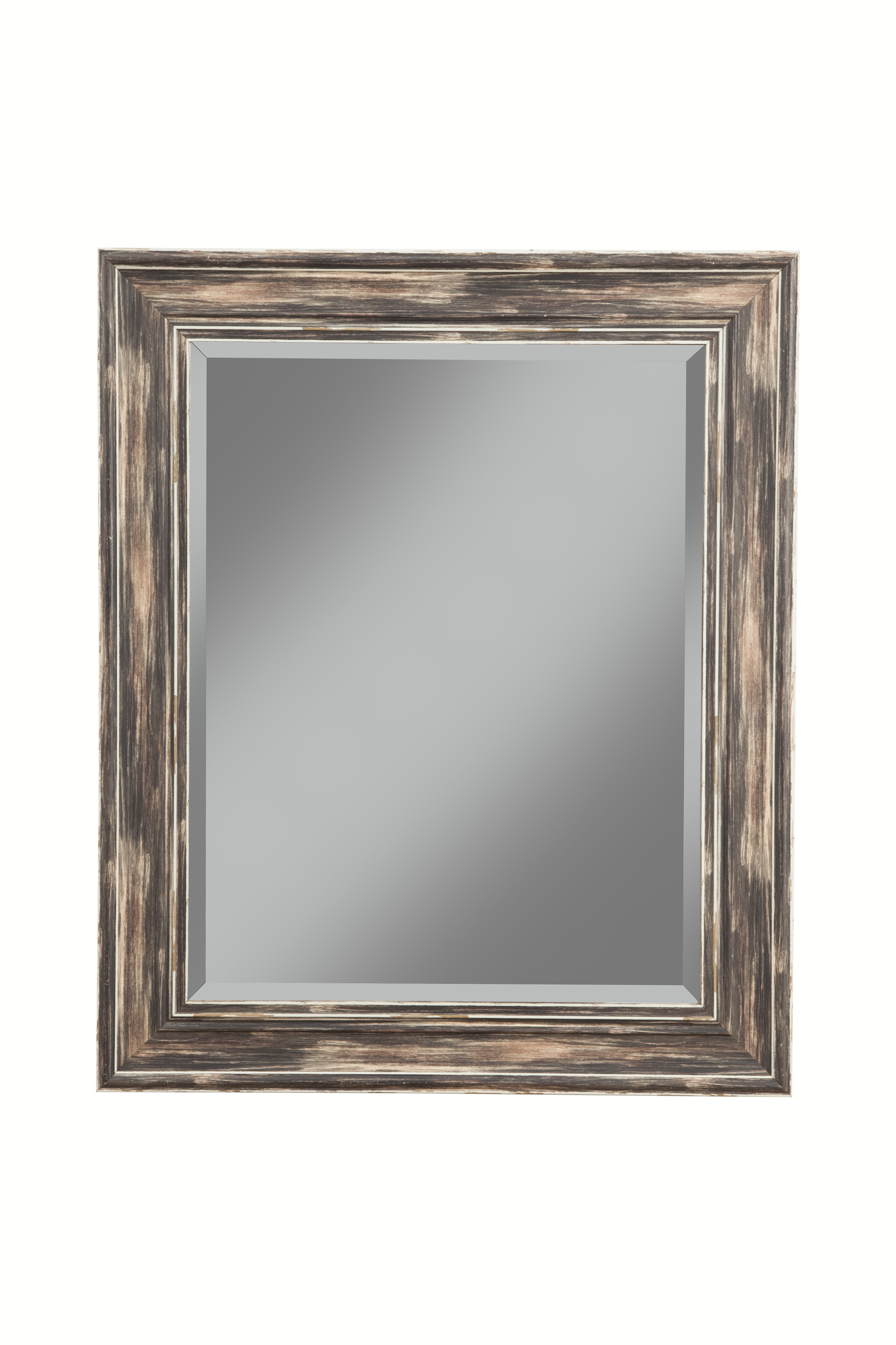 Farmhouse Antique Black Wall Mirror by Sandberg Furniture