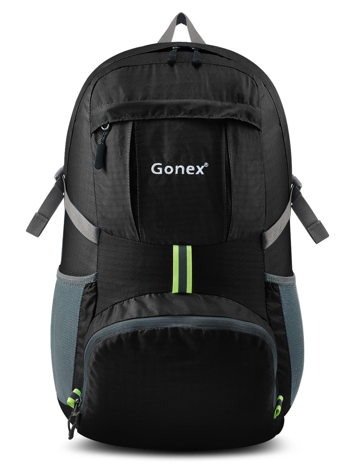 Gonex 35L Lightweight Packable Backpack Handy Foldable Shoulder Bag Case Daypack 5 Colors by Gonex