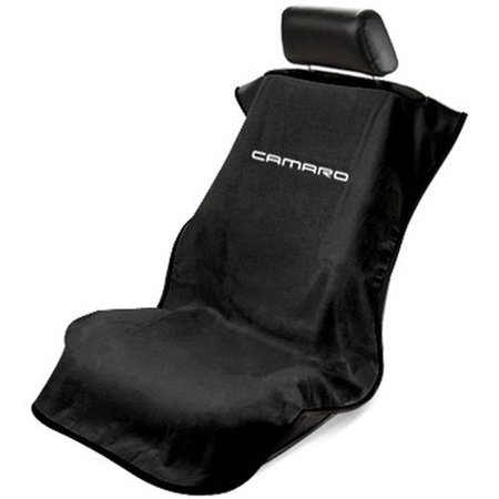SeatArmour Camaro Black Seat (Chevrolet Camaro Seat Upholstery)