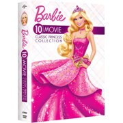 Barbie: 10-Movie Classic Princess Collection (DVD)
