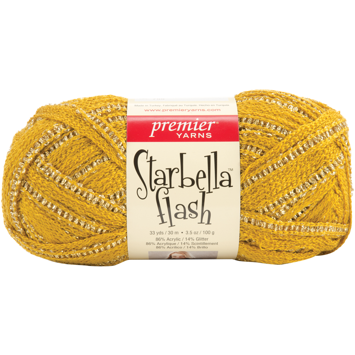 Premier Starbella Flash Yarn-Magic Lamp Multi-Colored