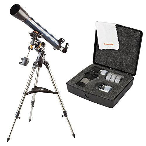 Celestron AstroMaster 90 EQ with AstroMaster Accessory Kit
