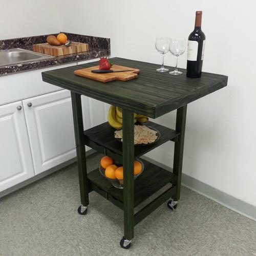 Oasis Concepts Folding Kitchen Cart
