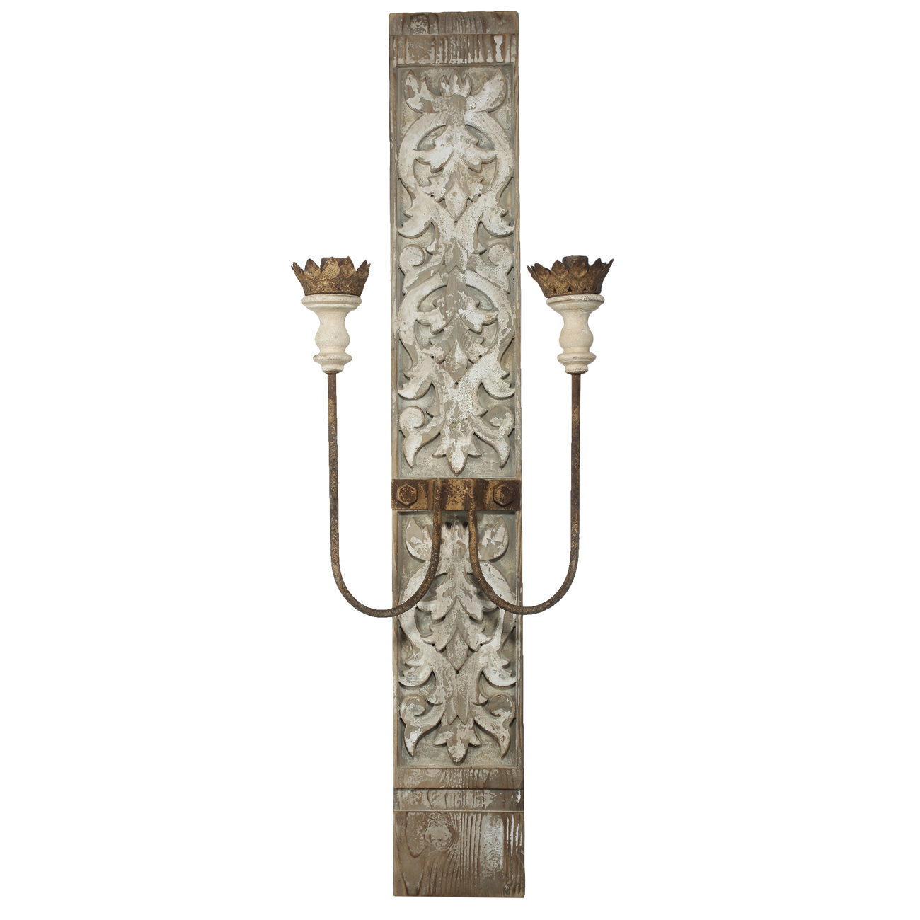 A&B Home Two-Light Wall Sconce, Electric by A&B Home