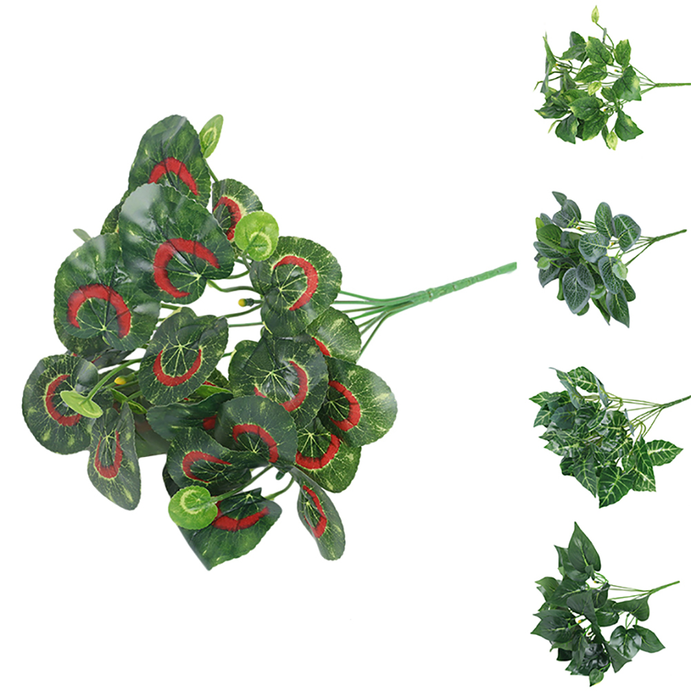 Directer 1 Bouquet Green Plastic Plant Artificial Table Decoration for Home Flower Store