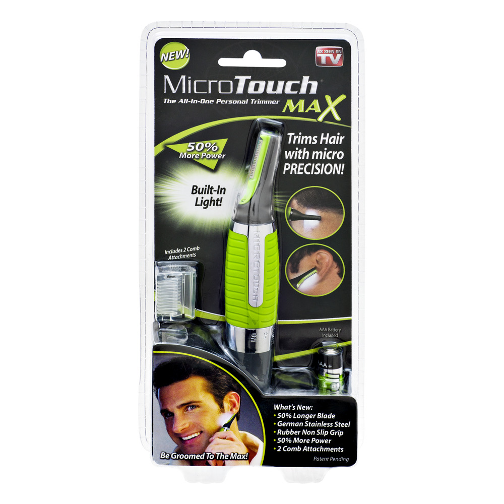 As Seen On TV MircoTouch All-In-One Personal Hair Trimmer, 1.0 CT