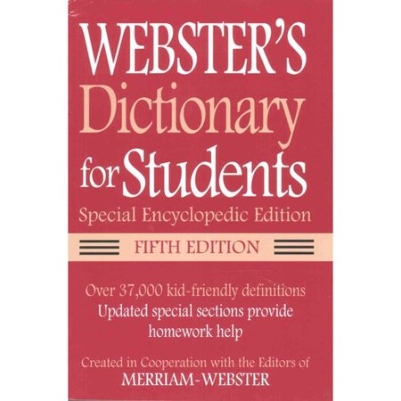 Websters Dictionary For Students 5Th Ed    Websters Thesaurus For Students 3Rd Ed   Special Encyclopedic Editon