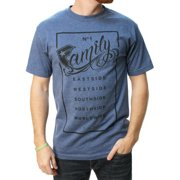 Famous Stars And Straps Men's Family Rectangle Graphic T-Shirt