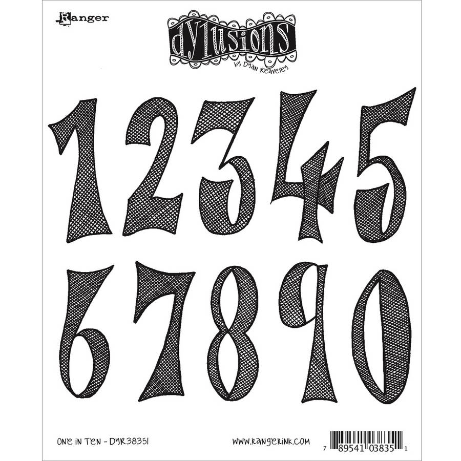 """Dyan Reaveley's Dylusions Cling Stamp Collections, 8.5"""" x 7"""""""