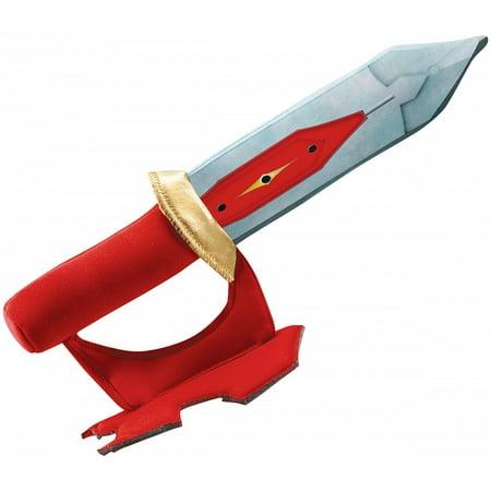 Red Ranger Soft Dragon Sword Child Costume Accessory (Power Ranger Sword)