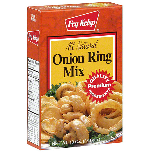 Fry Krisp Onion Ring Mix, 10 oz (Pack of 12)