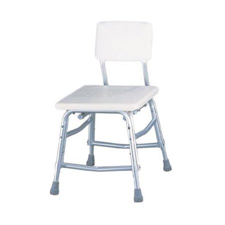Complete Medical 1154C Bath Bench with Dual Frame Brace Extra H-D with