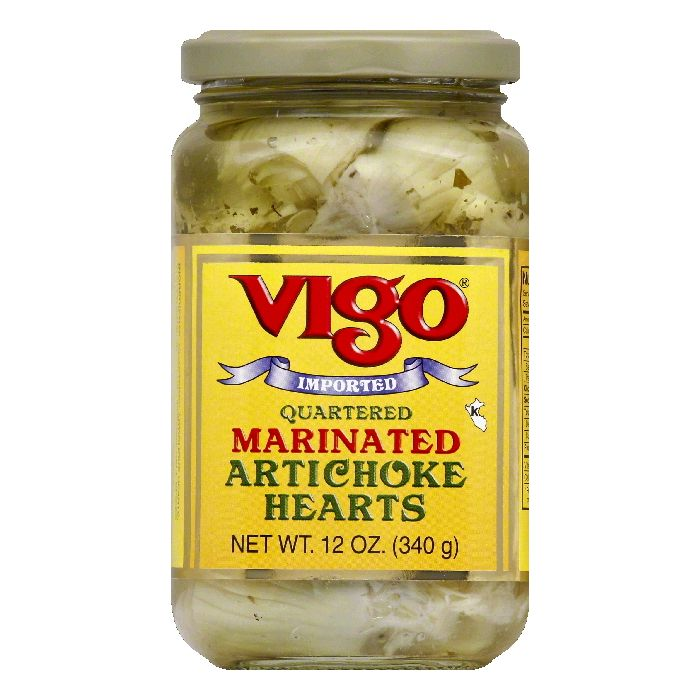 Vigo Artichoke Hearts Marinated, 12 OZ (Pack of 12)