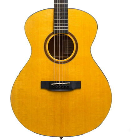 1964 Natural - Bedell Guitars 1964 Series Orchestra Acoustic-Electric Guitar with Hard Case, Natural Finish