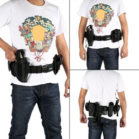 Police Security Guard Modular Enforcement Equipment Duty Belt Tactical