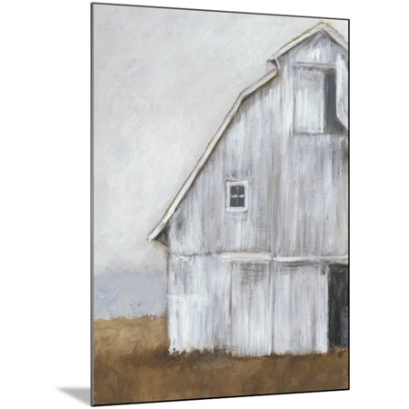 Wood Mounted Print (Abandoned Barn II Modern Farmhouse Art Wood Mounted Print Wall Art By Ethan Harper )