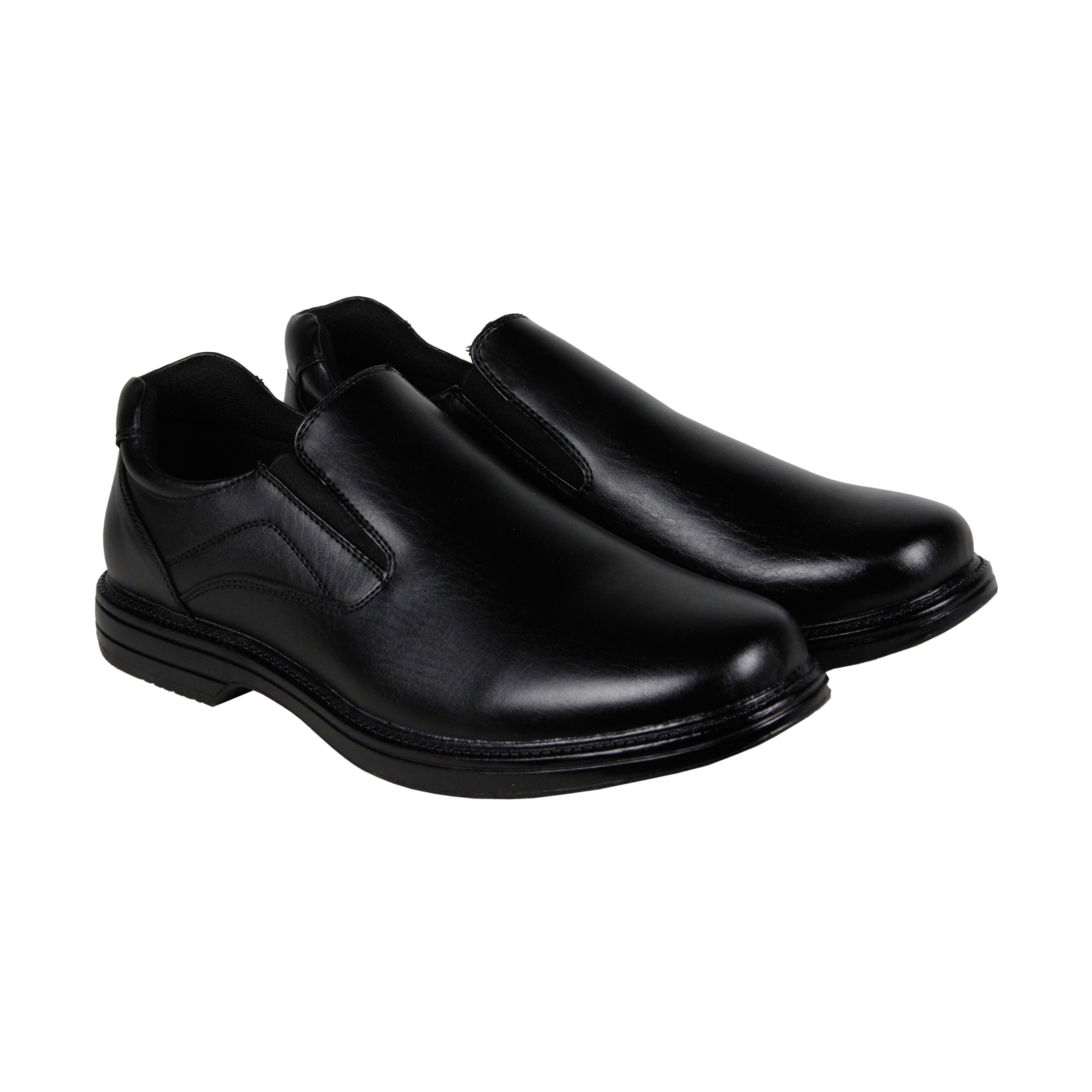 Click here to buy Deer Stags Nu Media Mens Black Leather Casual Dress Lace Up Oxfords Shoes by Deer Stags.