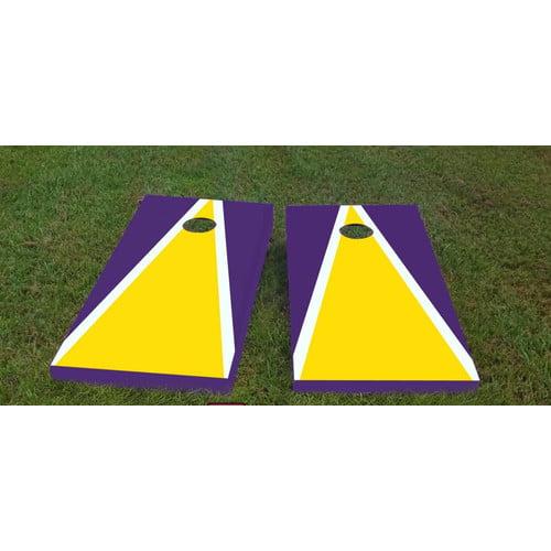 Custom Cornhole Boards Louisiana State University Cornhole Game (Set of 2)