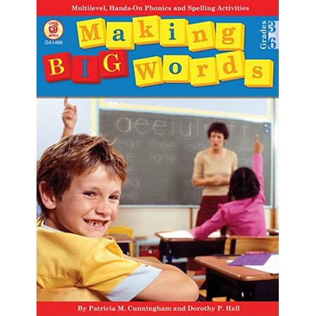 Making Big Words, Grades 3 - 6 - Halloween Spelling Words