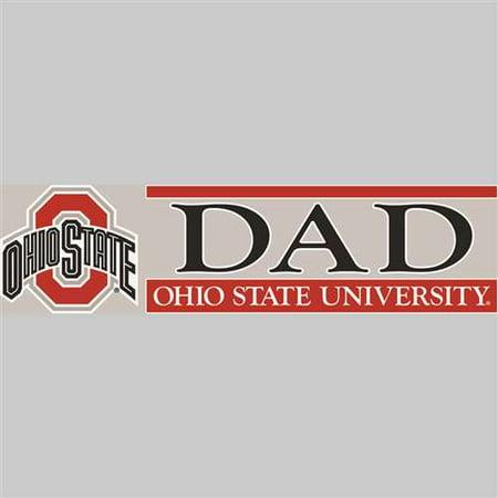 Ohio State Buckeyes Die Cut Decal Strip - Dad