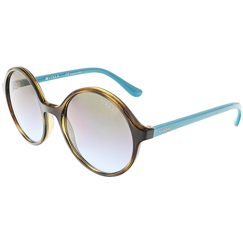 Vogue Women's Gradient Dark Havana VO5036S-W65648-52 Brown Round Sunglasses - image 3 de 3