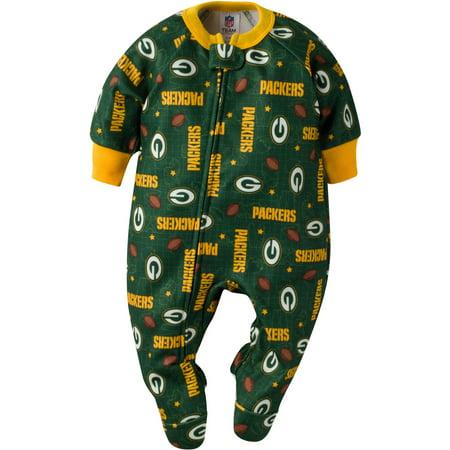 Nfl Green Bay Packers Baby Boys Team Blanket Sleeper Walmart Com