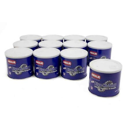 Amalie Blue Hi-Temp Grease 1 lb Tubs Case of 12 P/N